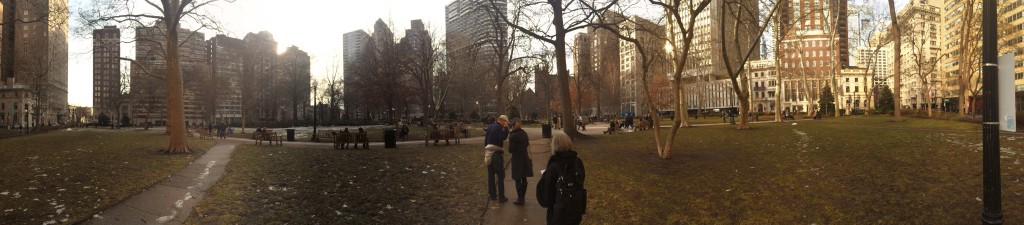 Rittenhouse Square in downtown Philly
